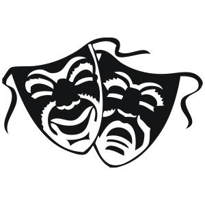 masque de théatre