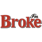 Diet Broke Coke Soda Parody Logo