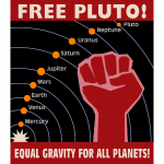 Free Pluto! Equal Gravity For All Planets!