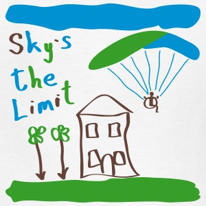 Sky`s the Limit Kid - Kids' T-Shirt