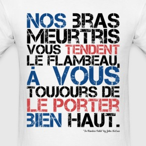 Montreal Canadiens Motto for 2014 Playoffs! - Men's T-Shirt