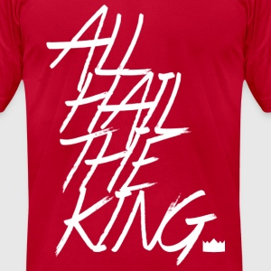 All Hail The King T-shirt - Men's T-Shirt by American Apparel