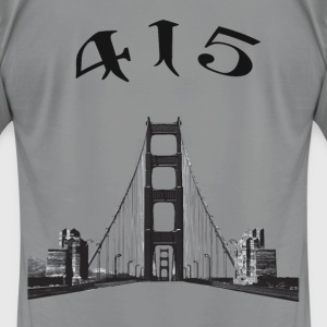Golden Gate Bridge 415 - Men's T-Shirt by American Apparel