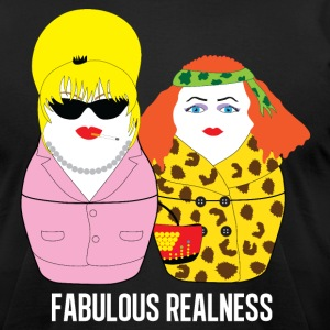 Fabulous Realness black - Men's T-Shirt by American Apparel