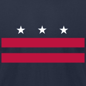 USA, DC - Men's T-Shirt by American Apparel