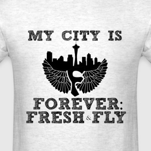 My City is Forever: Fresh and Fly - Men's T-Shirt