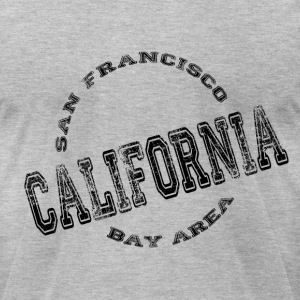 California Stamp - Men's T-Shirt by American Apparel