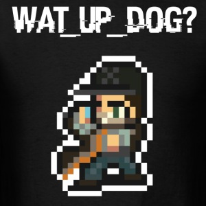 WATCH_DOGS Retro (Men's T-Shirt) - Men's T-Shirt