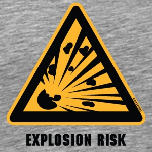 Explosion Risk! - Men's Premium T-Shirt