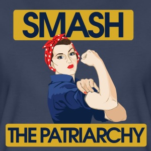 Smash the Patriarchy  - Women's Premium T-Shirt