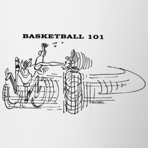 BASKETBALL 101 - Contrast Coffee Mug