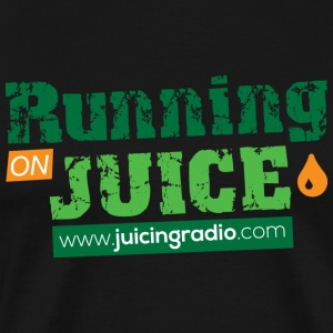 Running on Juice: Men's Premium T-Shirt - Men's Premium T-Shirt