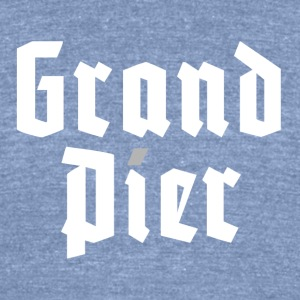 GRAND PIER - Unisex Tri-Blend T-Shirt by American Apparel