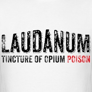 Laudanum (distressed) - Men's T-Shirt
