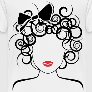Global Couture logo_curly girl Kids' Shirts - Kids' Premium T-Shirt