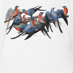 Passenger Pigeons Baby & Toddler Shirts - Short Sleeve Baby Bodysuit