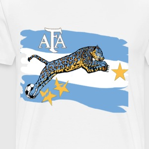 Argentina Quest for Brazil 2014 World Cup - Men's Premium T-Shirt