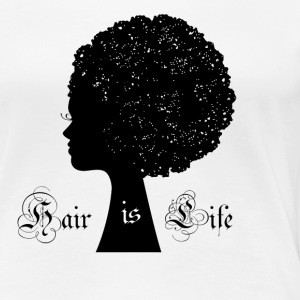 Afro Woman - Women's Premium T-Shirt