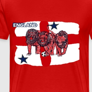 World Cup England Soccer (Football) - Men's Premium T-Shirt