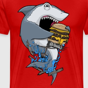 Shark H20 Delirious T-Shirts - Men's Premium T-Shirt