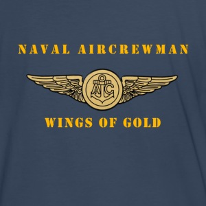 US Naval Aircrewman Deluxe Style Shirt - Men's Premium T-Shirt