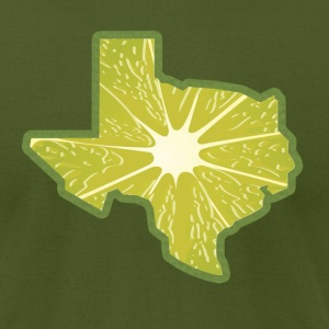 Men's Texas Lime - Men's T-Shirt by American Apparel