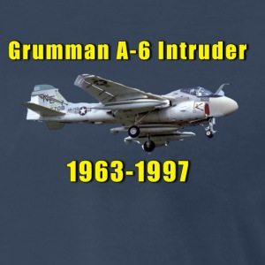 Grumman A-6 Intruder Tribute Shirt Featuring VA-14 - Men's Premium T-Shirt