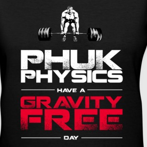 PHUK PHYSICS (women's V) - Women's V-Neck T-Shirt