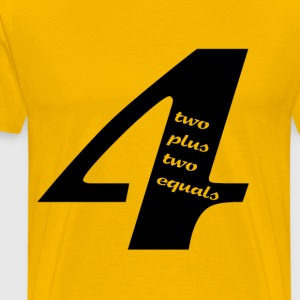 Four - Men's Premium T-Shirt