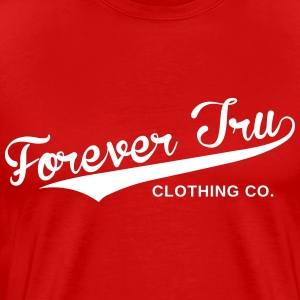 Forever Tru Clothing Script Tee - Men's Premium T-Shirt