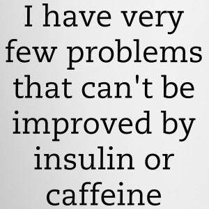 Insulin or Caffeine - Coffee/Tea Mug