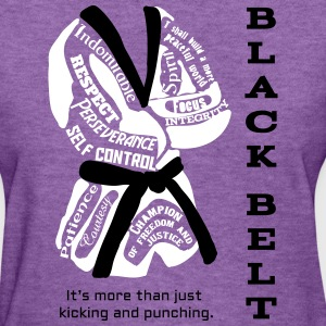 Black Belt - Women's T-Shirt