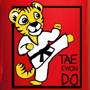 TKD Little Tiger - Full Color Mug