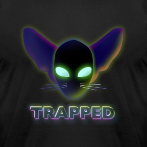 TRAPPED (CATALIEN) - Men's T-Shirt by American Apparel