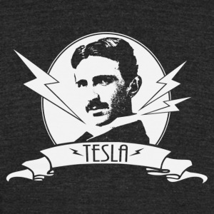 Tesla shirt - Unisex Tri-Blend T-Shirt by American Apparel