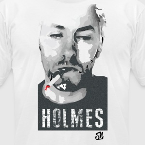 HOLMES (w) - Men's T-Shirt by American Apparel