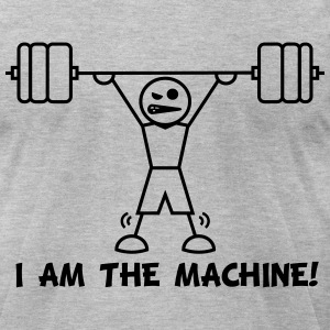 I Am The Machine - Men's T-Shirt by American Apparel