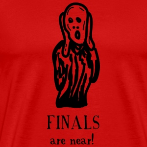 The Scream: Finals are Near! - Men's Premium T-Shirt