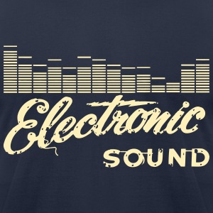 Electro - Men's T-Shirt by American Apparel