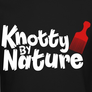 knotty by nature Long Sleeve Shirts - Crewneck Sweatshirt