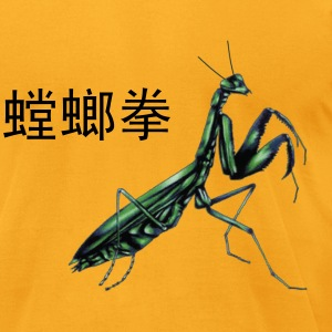 Tang Lang Quan Mantis Logo - Men's T-Shirt by American Apparel
