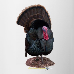 TOM TURKEY STRUTTING - Contrast Coffee Mug