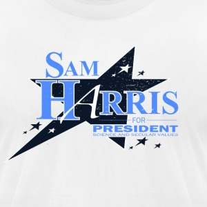 Sam Harris for President - Men's T-Shirt by American Apparel