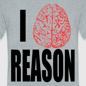 I Heart REASON T-Shirts - Unisex Tri-Blend T-Shirt by American Apparel