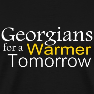 Georgians for Warmer - Men's Premium T-Shirt