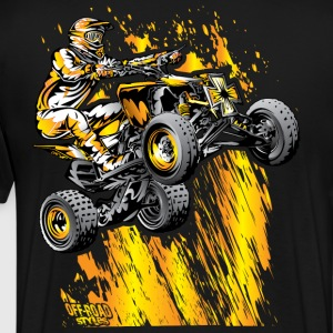 Bonfire Quad ATV T-Shirts - Men's Premium T-Shirt