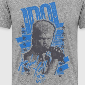 Rebels Billy Idol T-Shirts - Men's Premium T-Shirt