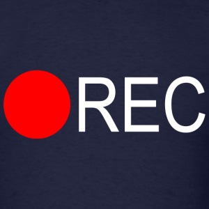 Record Button - Men's T-Shirt
