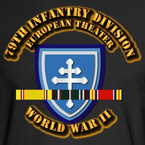 79th Infantry Division - Europe - WWII - Men's Long Sleeve T-Shirt