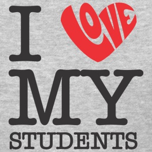 I Love My Students Women's T-Shirts - Women's T-Shirt
